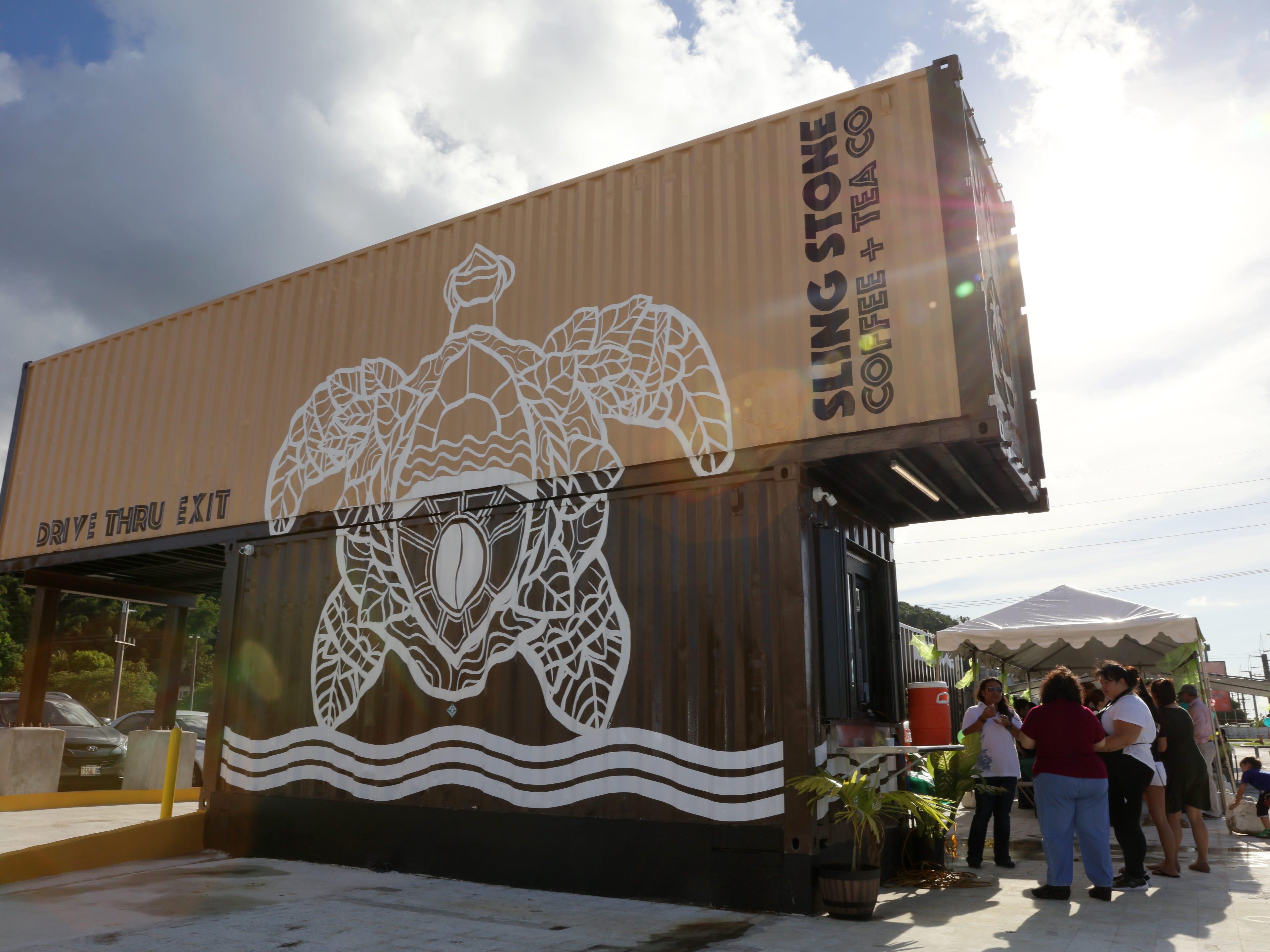 Sling Stone Coffee opens in Anigua.