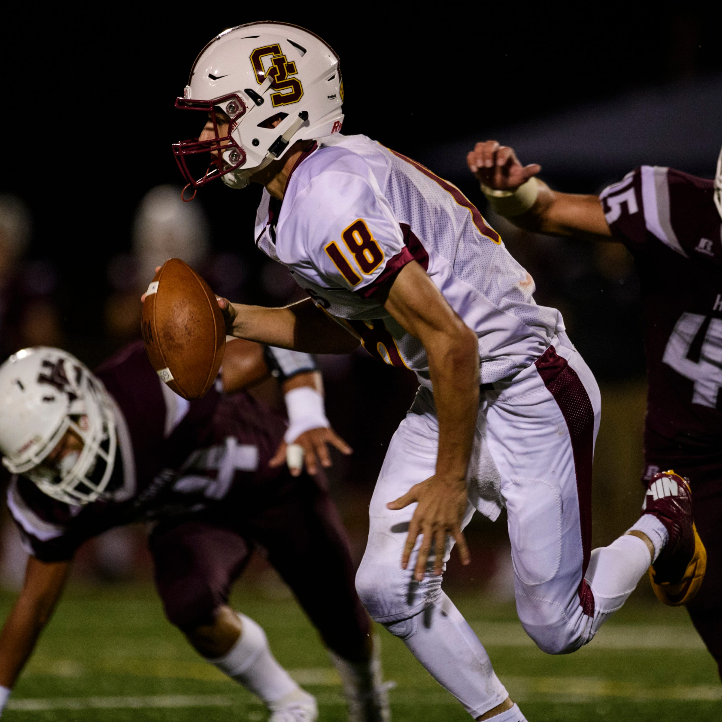 Gibson Southern quarterback Brady Allen staying even-keeled amid the hype and buzz