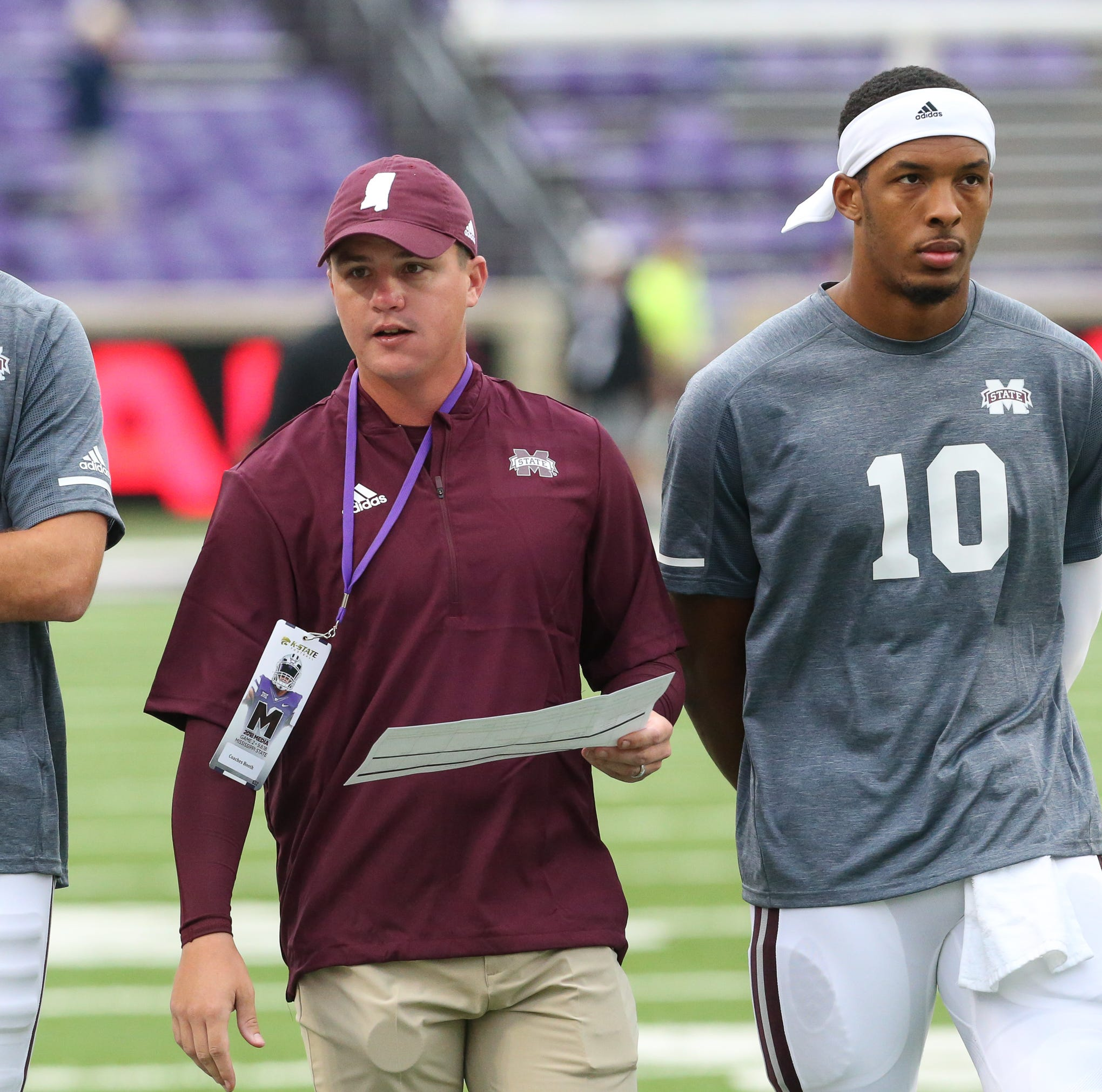Joe Moorhead: Keytaon Thompson could get a shot for Mississippi State