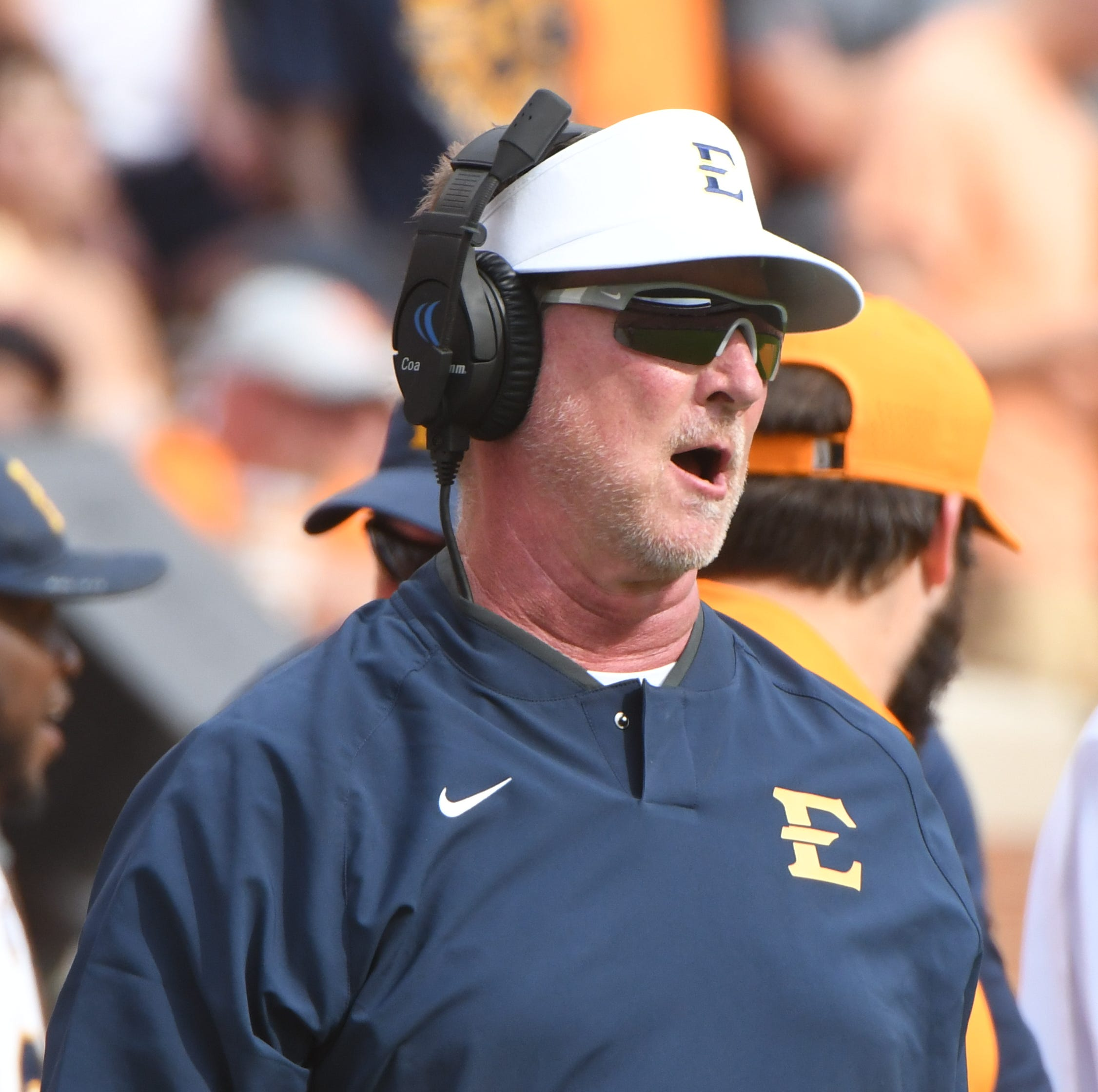 ETSU coach Randy Sanders says success is like eating Doritos