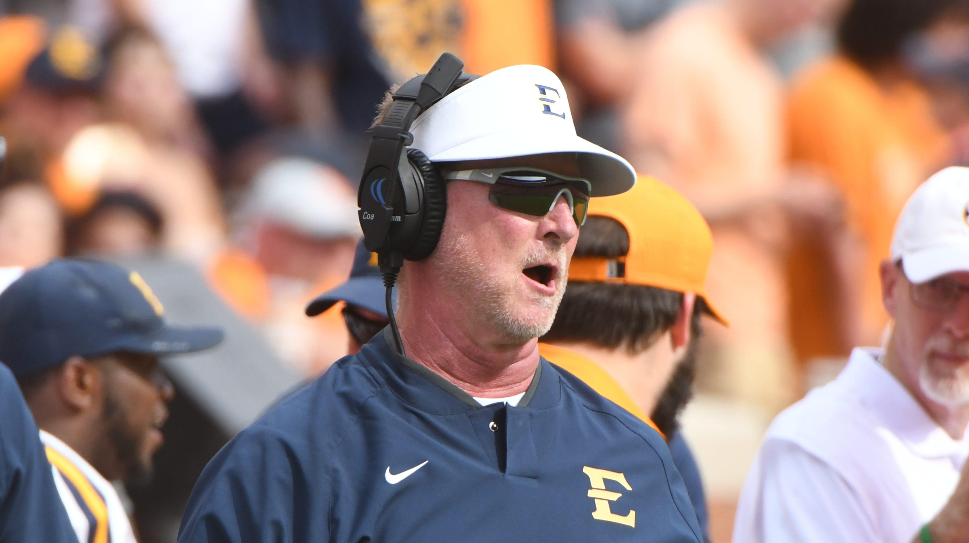 ETSU coach Randy Sanders says success is like eating Doritos