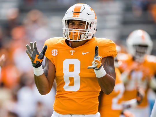 Wide receiver Latrell Williams played in just two games for the Vols.