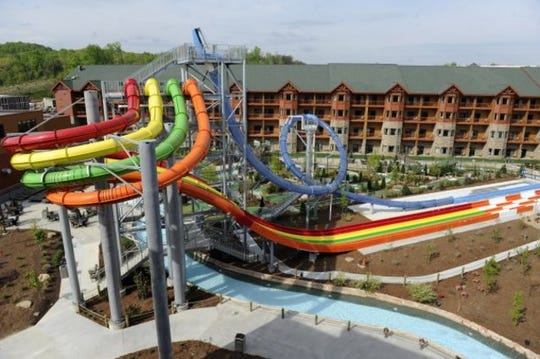 The Wilderness at the Smokies water park is pictured in Sevierville.