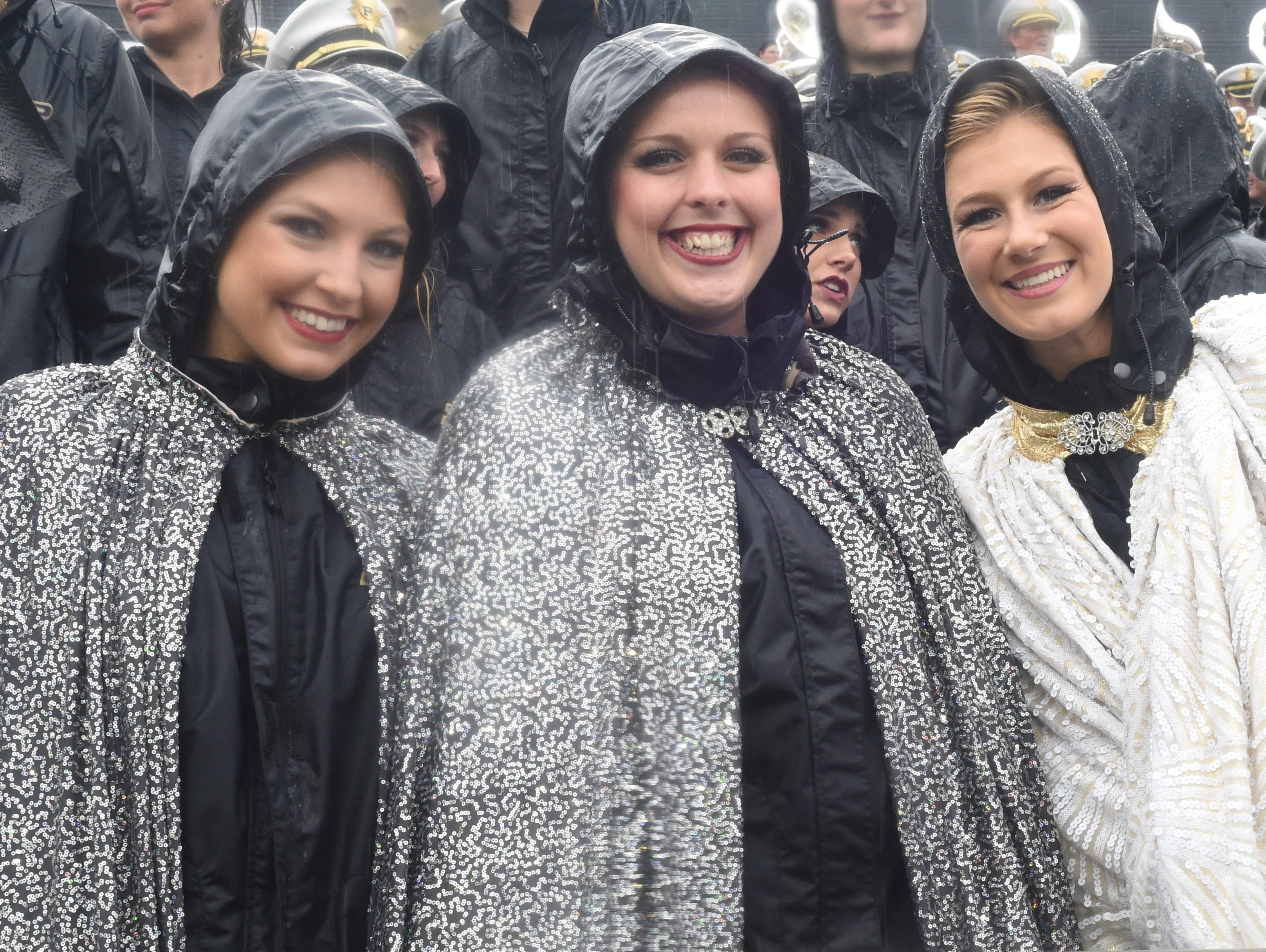Boiler faithful braved the cold and the rain as Purdue welcomed Eastern Michigan to Ross-Ade Stadium.
