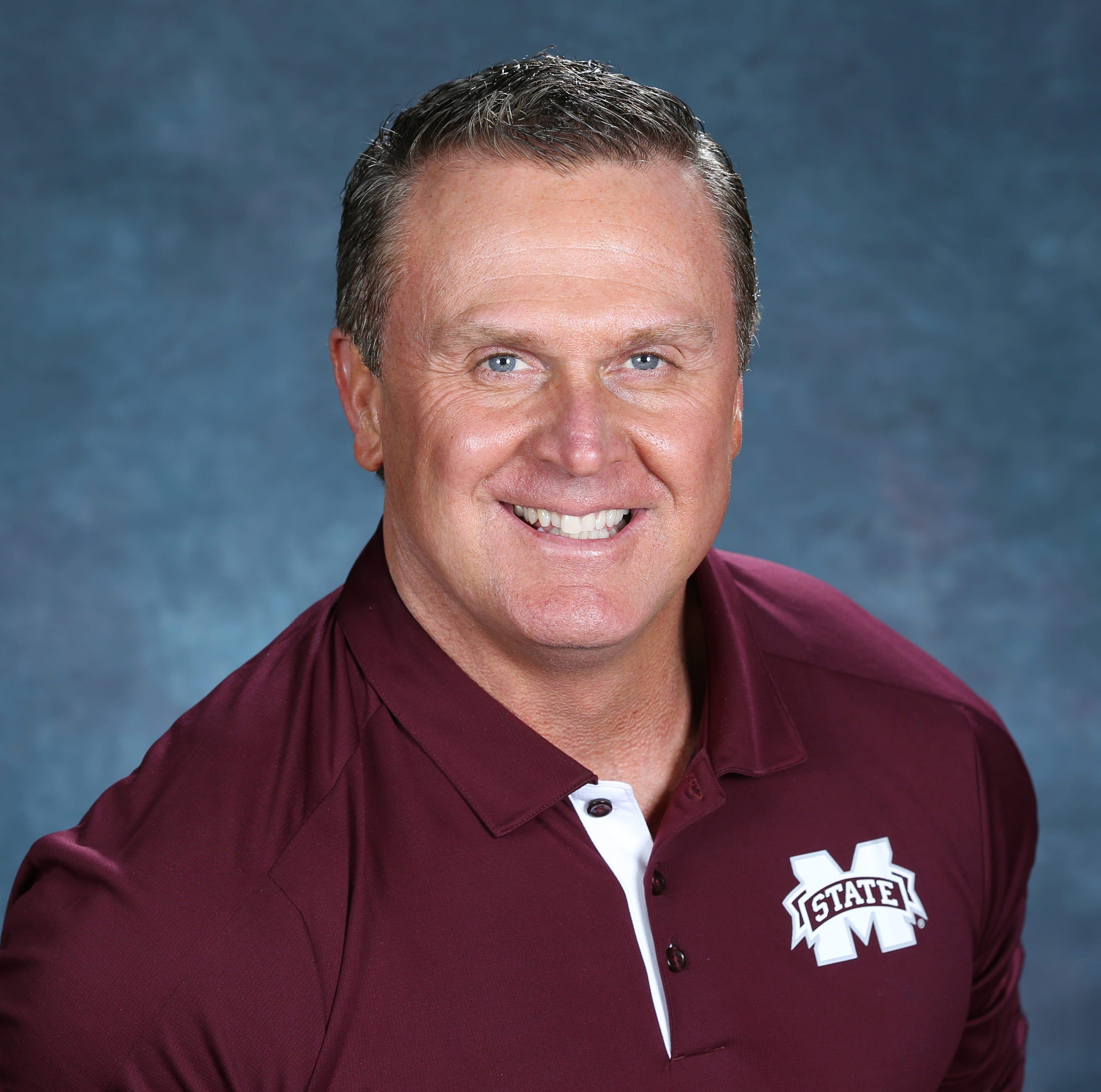 Mississippi State associate head coach Mark Hudspeth