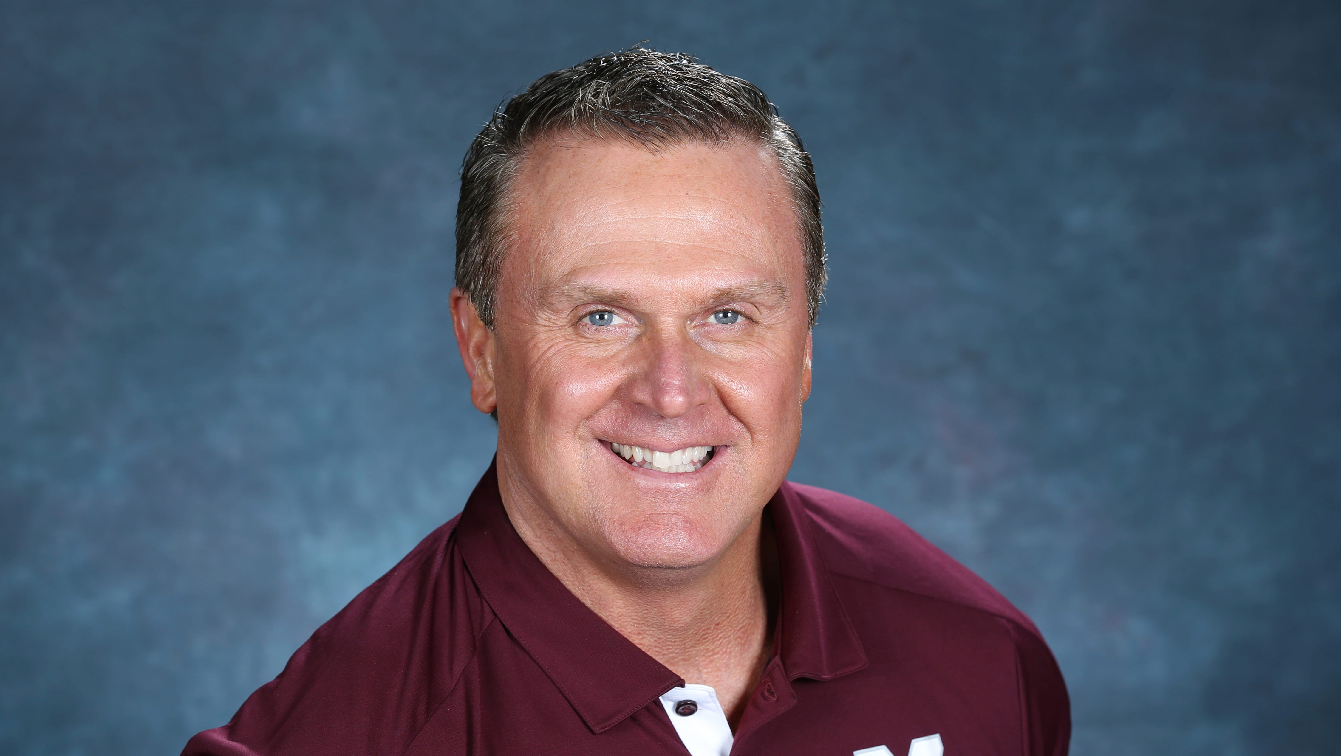 Mississippi State associate head coach Mark Hudspeth