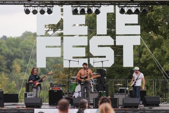 Bendigo Fletcher performs at PeteFest. Sept. 8, 2018