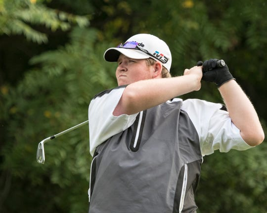 Lexington senior Taylor Wittmer had the best 18-hole round of his career, firing a 71 with four birdies in Friday's City Golf Tournament at Oak Tree.
