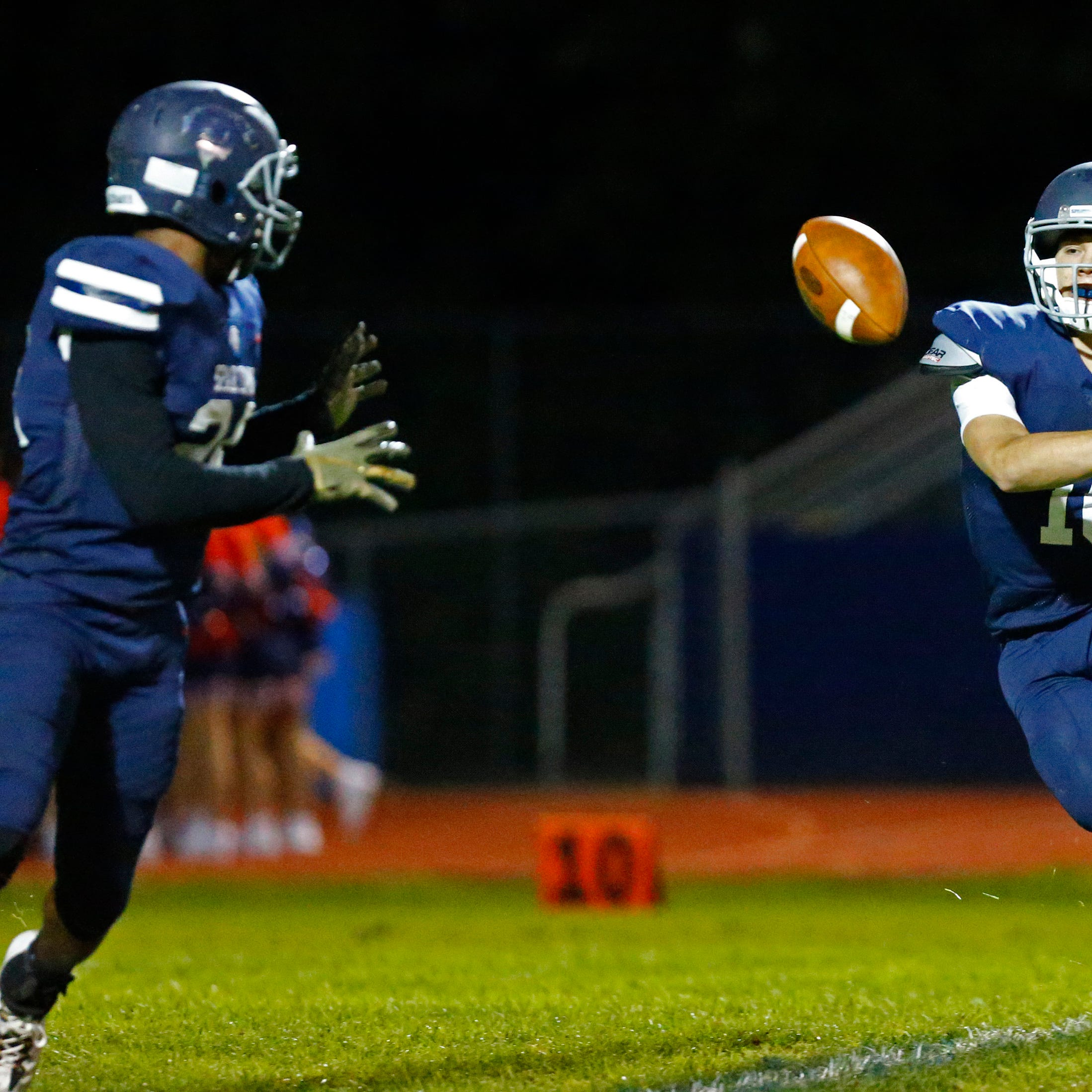 After transferring to Brookfield East, running back Donavan Hunt has found his stride