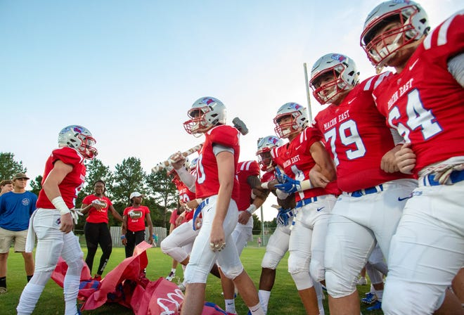 Macon East took on Fort Dale Academy at home during the third week of football.