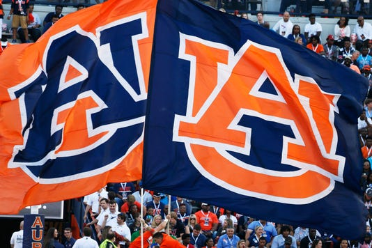 Ncaa Football Mississippi State At Auburn