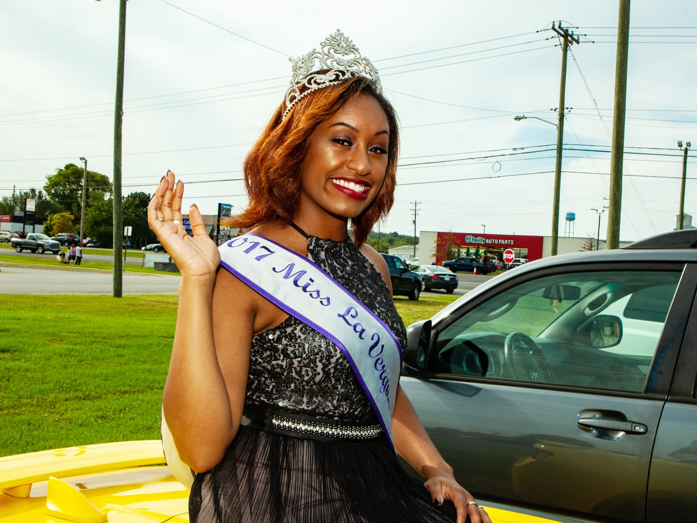 Kendra Hayes, Miss La Vergne 2017, at the city's annual Old Timers Festival, held Saturday, Sept. 8, 2018.