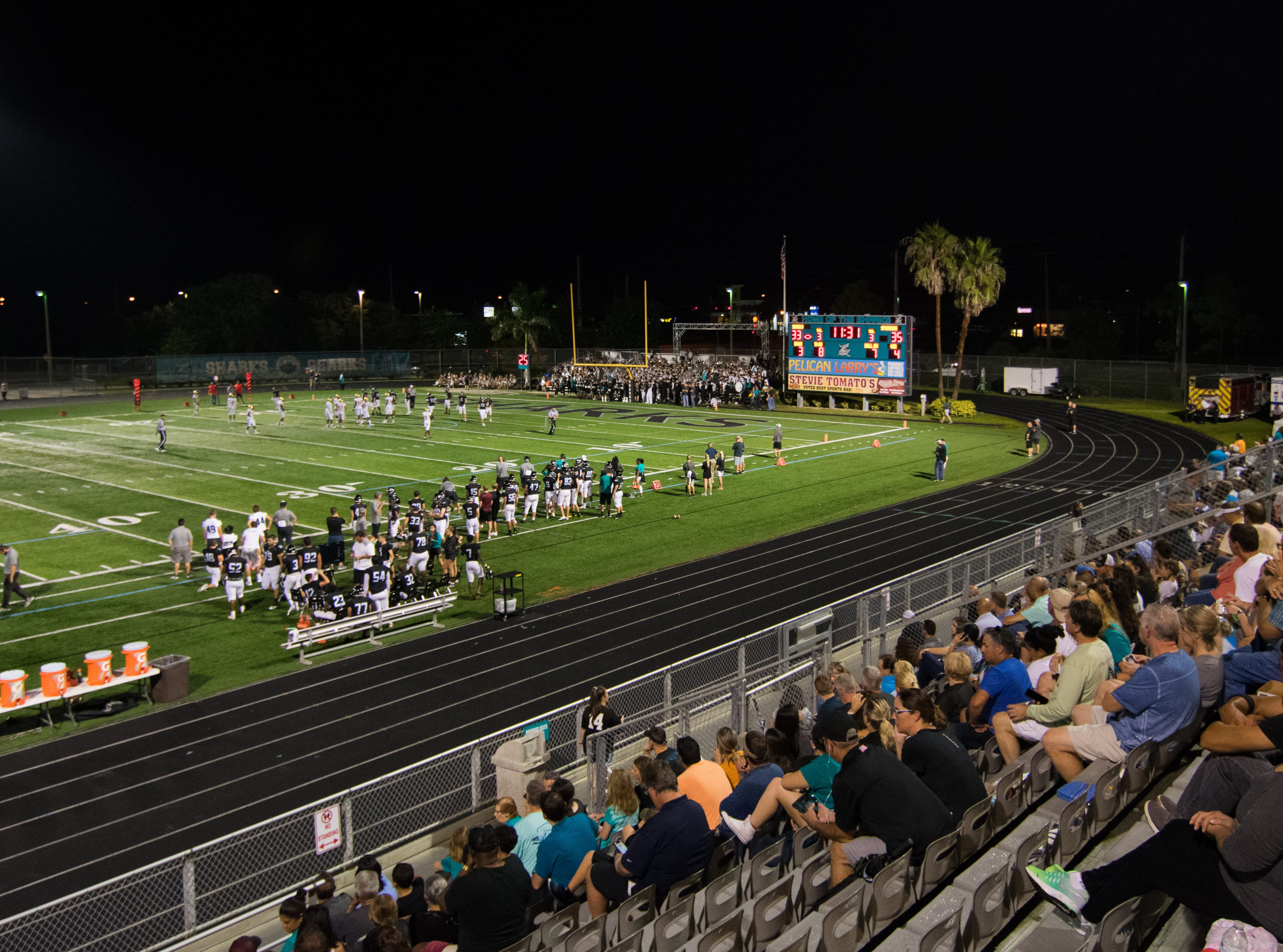 The Gulf Coast High School football team lost to Miami-Monsignor Pace, 35-33, on Friday, Sept. 7, 2018, at Tudryn Field.