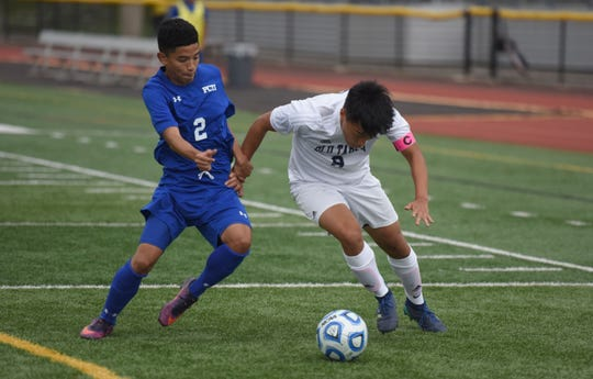 Passaic Tech. #2 Gabe Chumacero and NV/Old Tappan  # 8 Robert Kim
