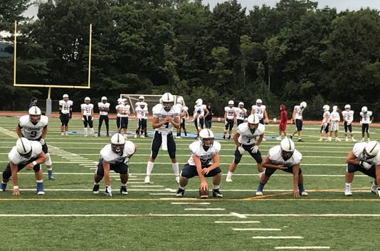 Paramus football offense 09-07-2018