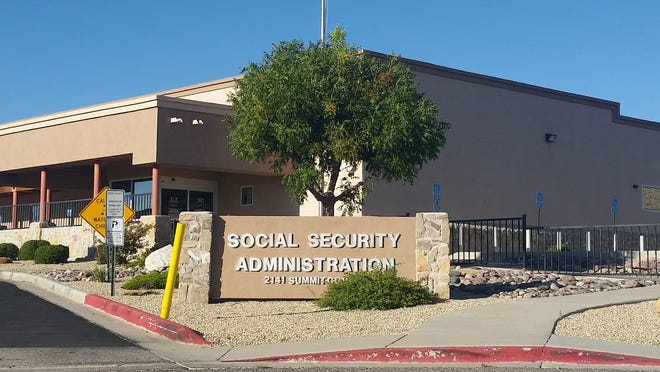 The Social Security Administration building is located at 2141 Summit Court in Las Cruces.