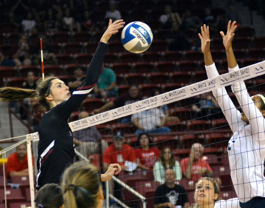 New Mexico State's Megan Hart has become one of the key players for the Aggies in the past two seasons.