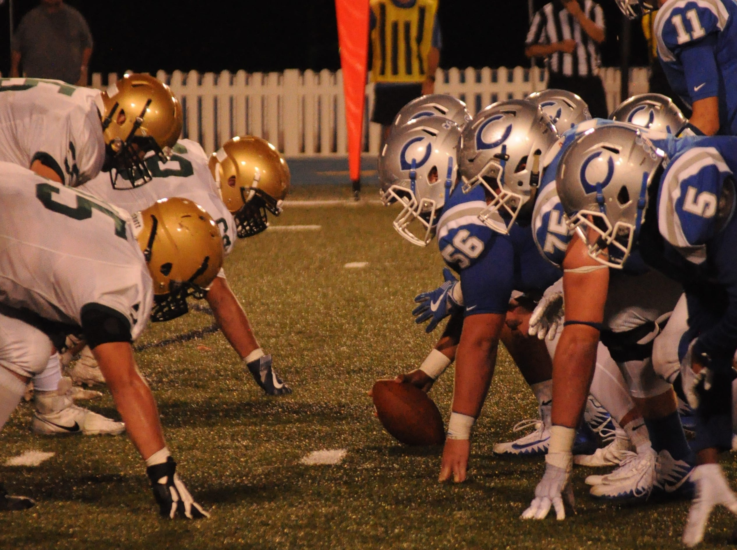 The Carlsbad Cavemen faced off against the Atrisco Heritage Jaguars Sep. 7.