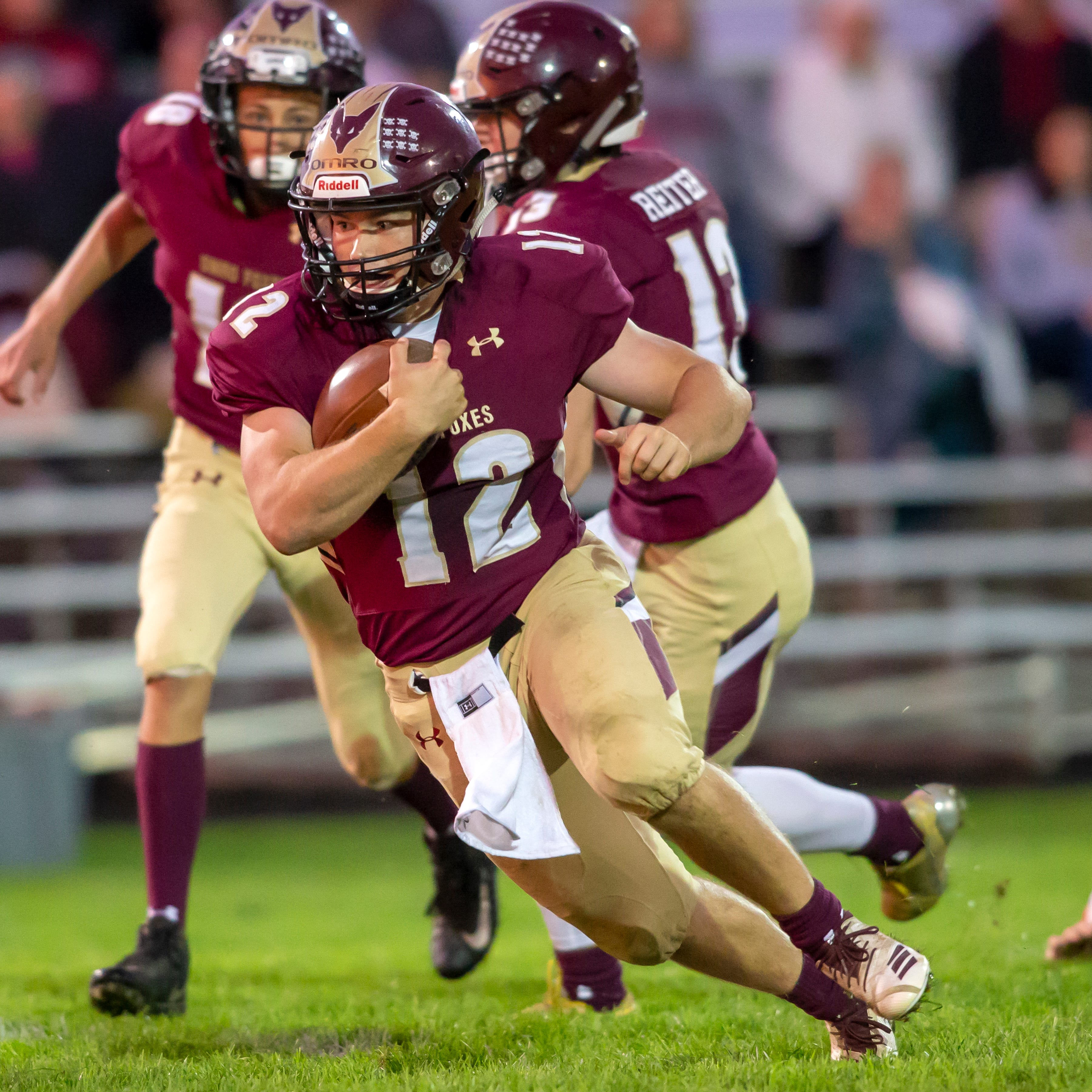 High school football: Friday matchup will determine last undefeated Flyway Conference team