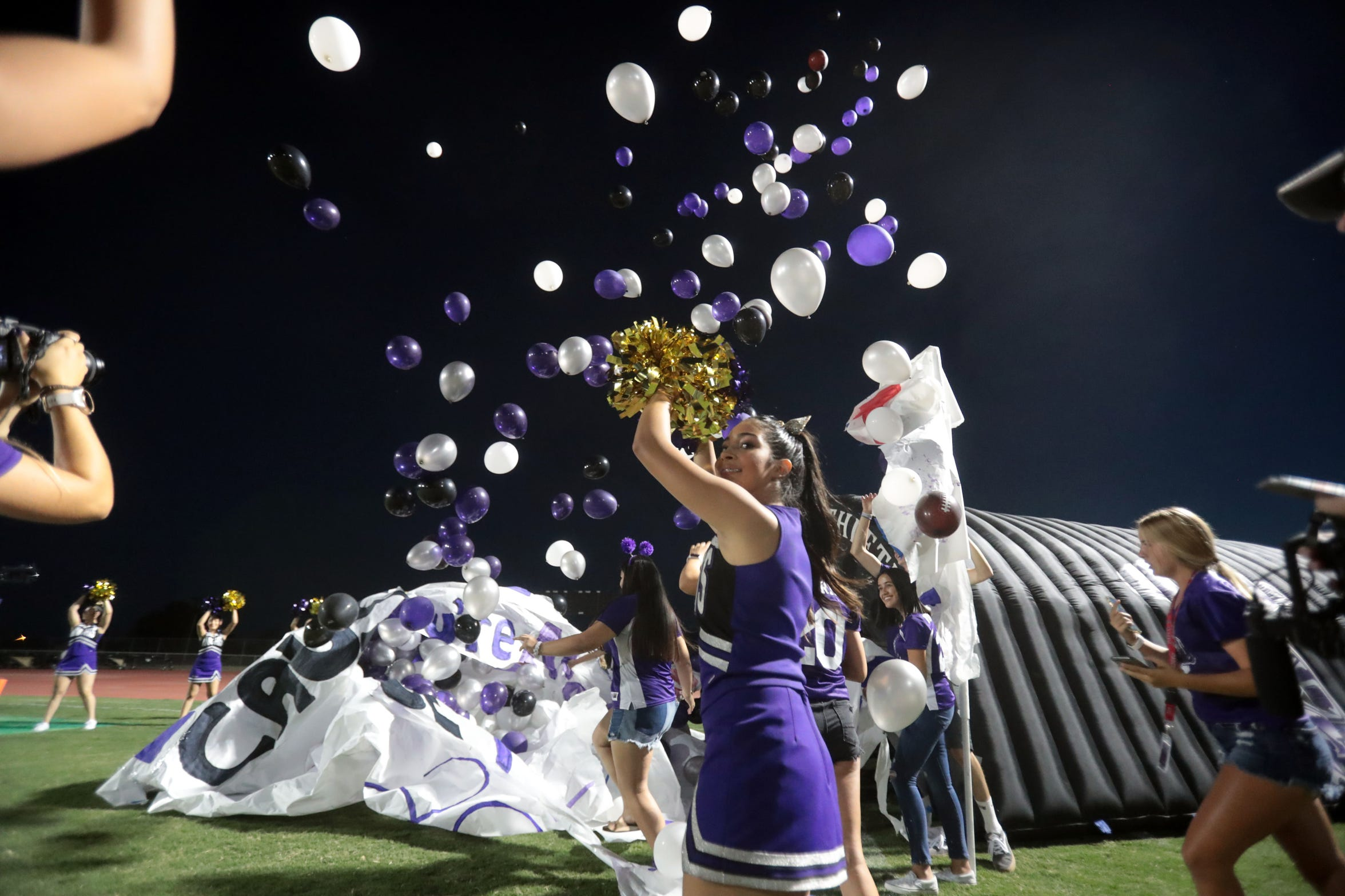 Shadow Hills has what feels like a party before, during and after home games in Indio.