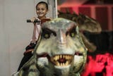 Dinosaur attraction Jurassic Tours at Riverside County Fairgrounds