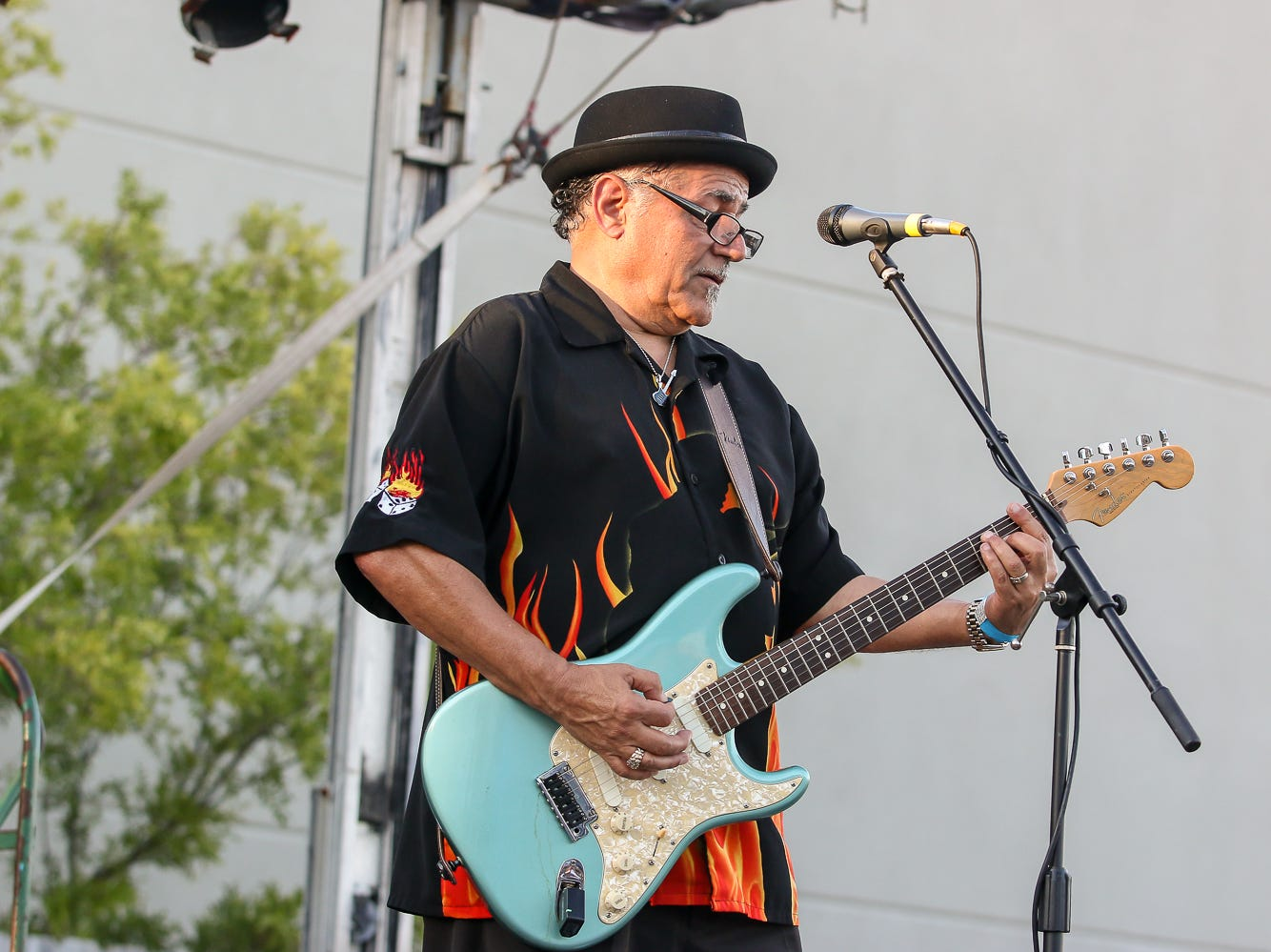 Cat Daddy Blues Band performs during the 23rd annual Emerald Coast Beer Festival at Seville Quarter on Friday, September 7, 2018. The event helps raise money for the Alfred-Washburn Center and Seville Rotary Club.
