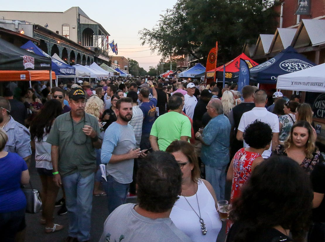 Featuring over 50 breweries, the 23rd annual Emerald Coast Beer Festival offered attendees a variety of items to enjoy at Seville Quarter on Friday, September 7, 2018. The event helps raise money for the Alfred-Washburn Center and Seville Rotary Club.