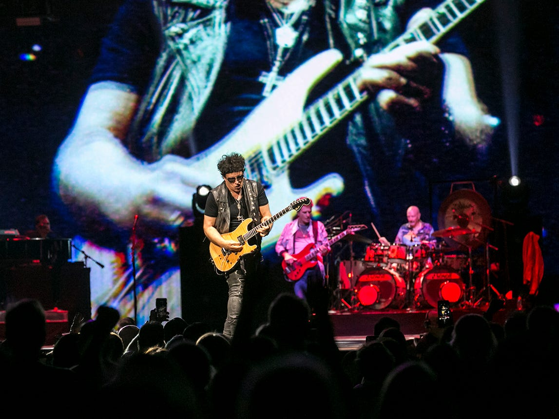 Journey performs at Talking Stick Resort Arena Friday, Sept. 7, in Phoenix.