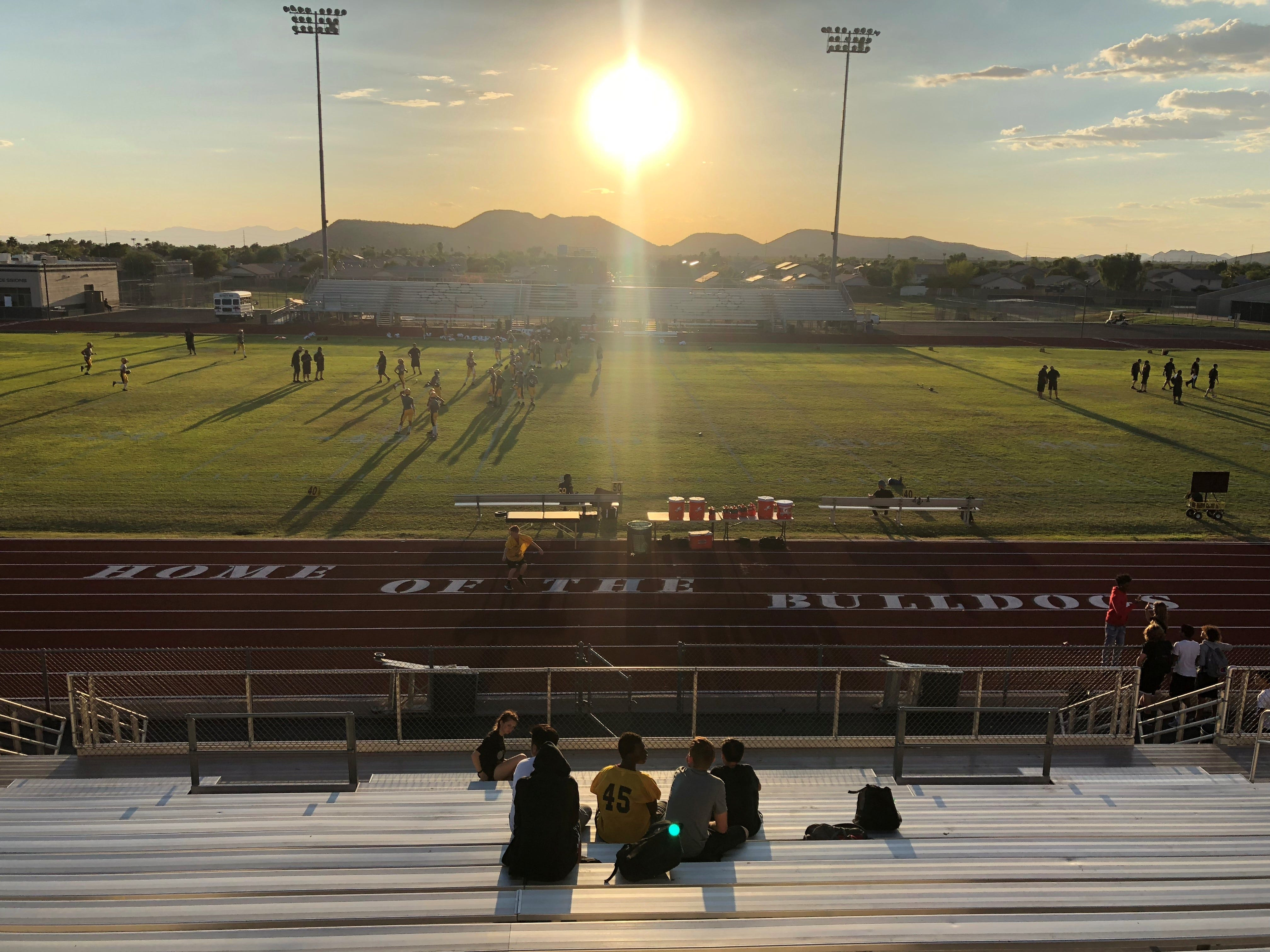 Barry Goldwater hosted Gilbert on Friday, Sept. 7, 2018.