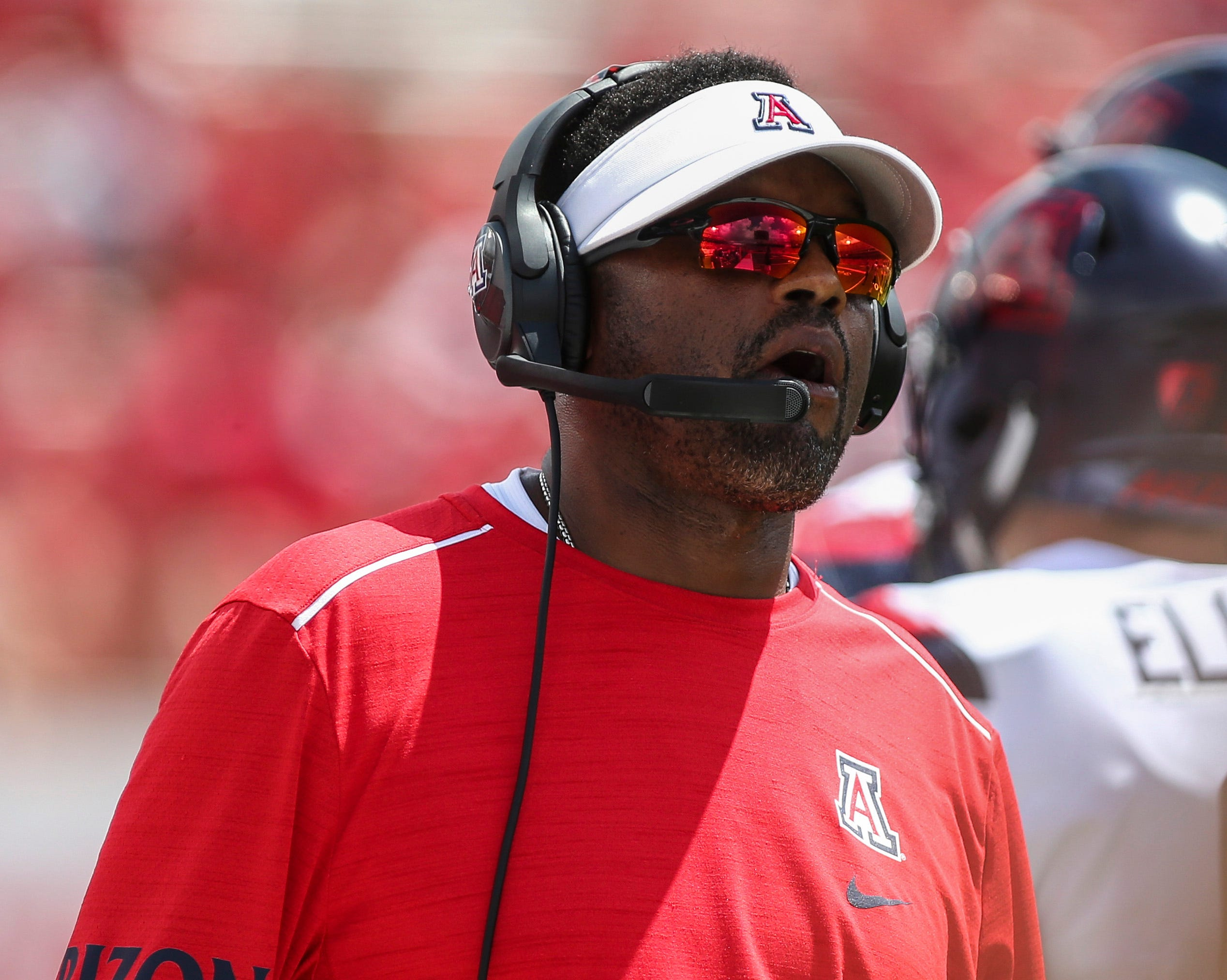 kevin sumlin arizona wildcats football blasted after loss to houston rh azcentral com