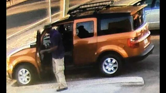 Derek Minor was last seen driving an orange Honda Element.