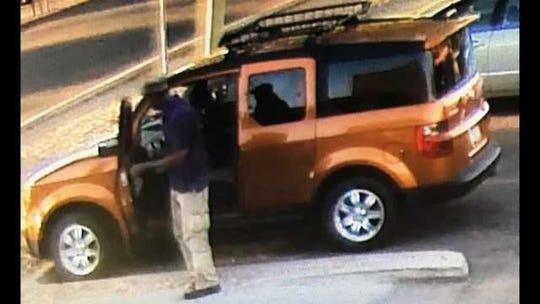 Derek Minor was last seen driving an orange Honda Element.