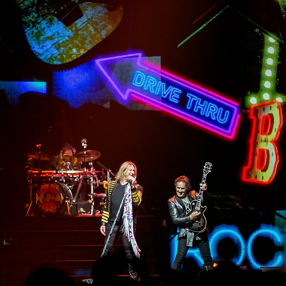 Def Leppard opens for Journey at Talking Stick Resort Arena Friday, Sept. 7, in Phoenix.