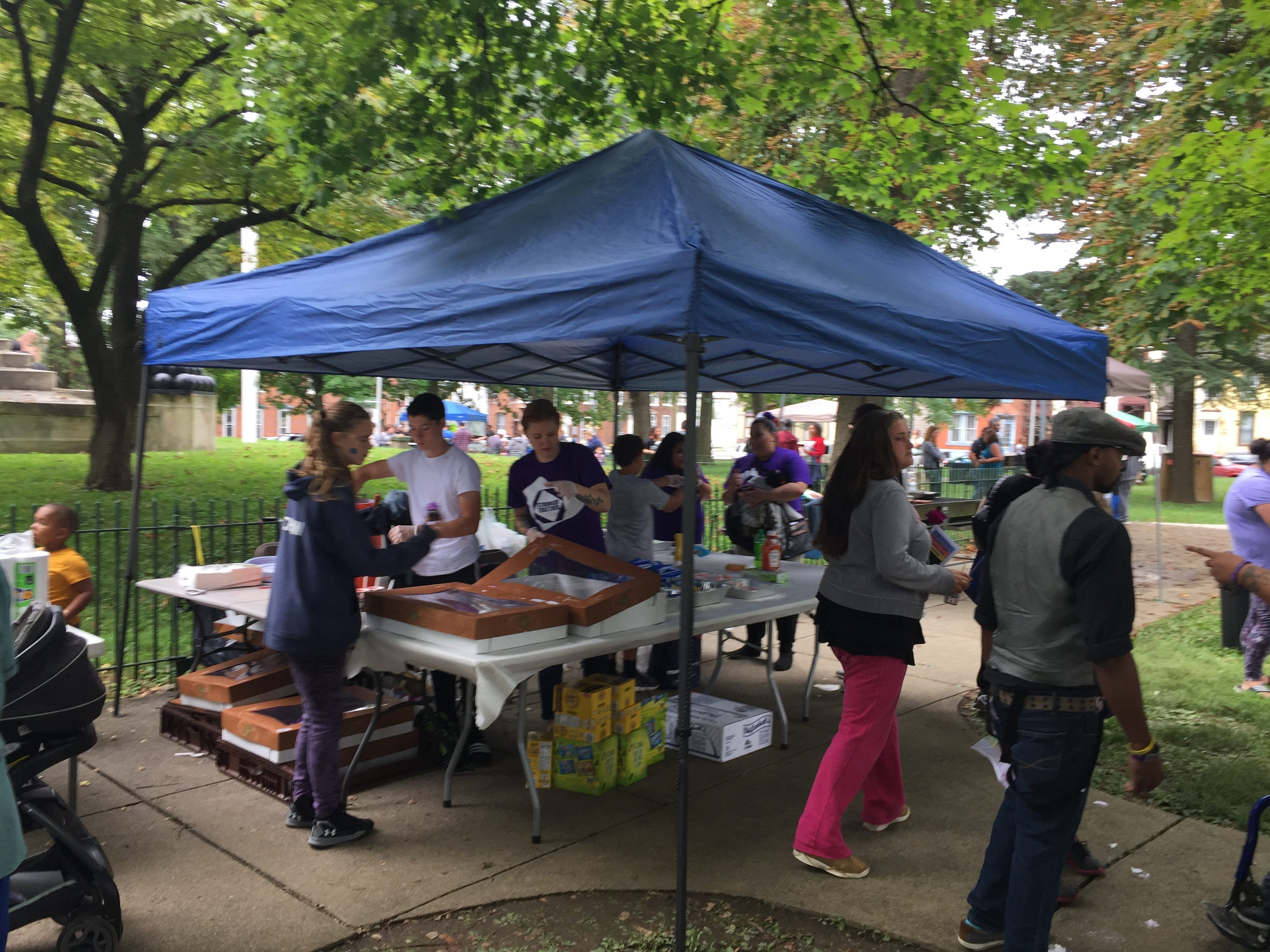 The Lebanon County Heroin Task Force sponsored the first Lebanon County Recovery Day on Saturday, Sept. 8, 2018 at Monument Park in Lebanon. Dozens of substance abuse and mental health treatment providers were on hand to discuss their services.