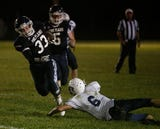 Highlights from Friday night's football game between Pine Plains and Roscoe