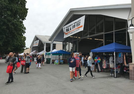 The 17th Annual Hudson Valley Wine & Food Fest is expected to draw about 20,000 visitors to the Dutchess County Fairgrounds in Rhinebeck.