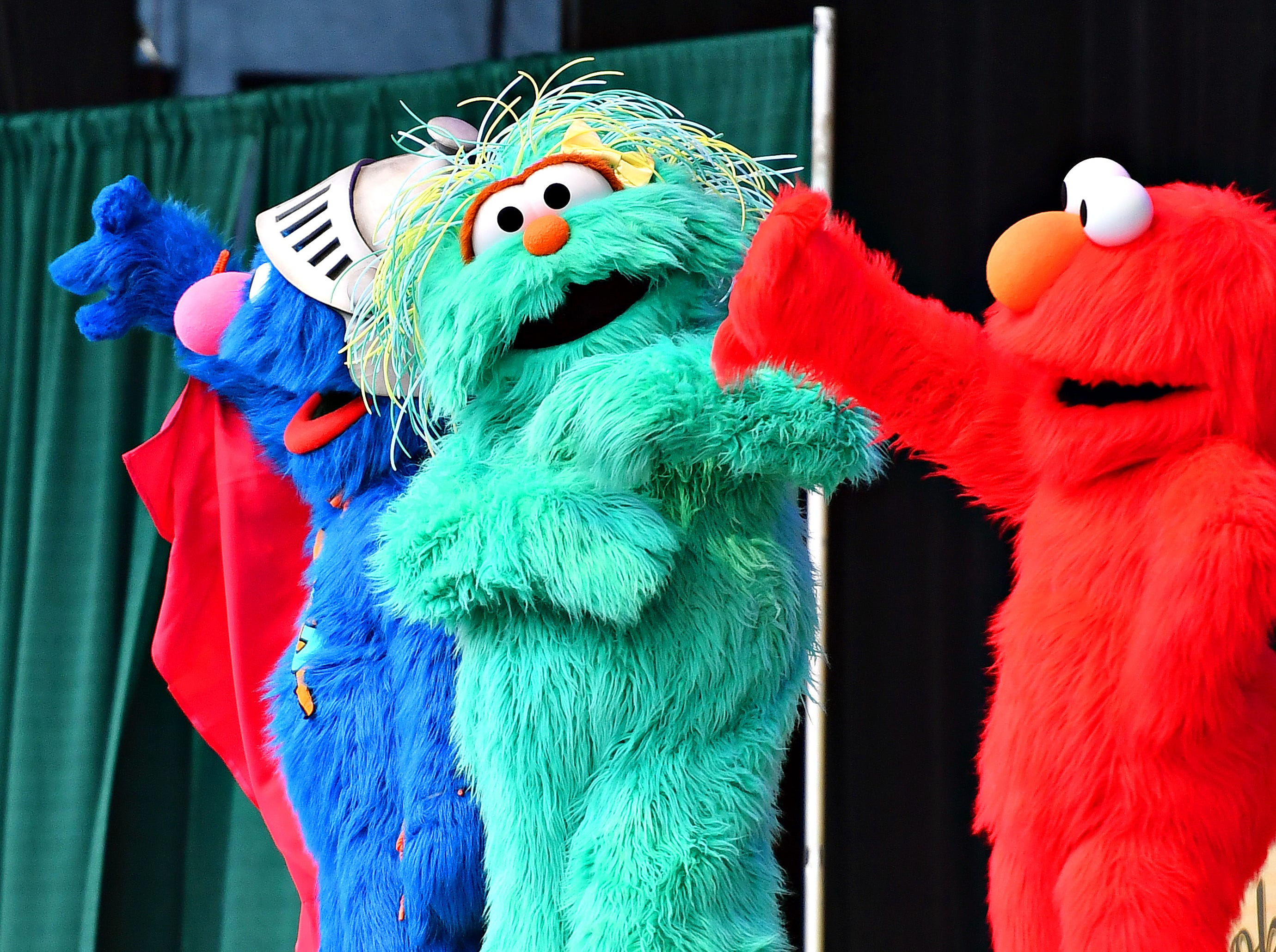 Sesame Street Live brightens the stage during their performance at York Fair, Saturday, Sept. 8, 2018. Dawn J. Sagert photo