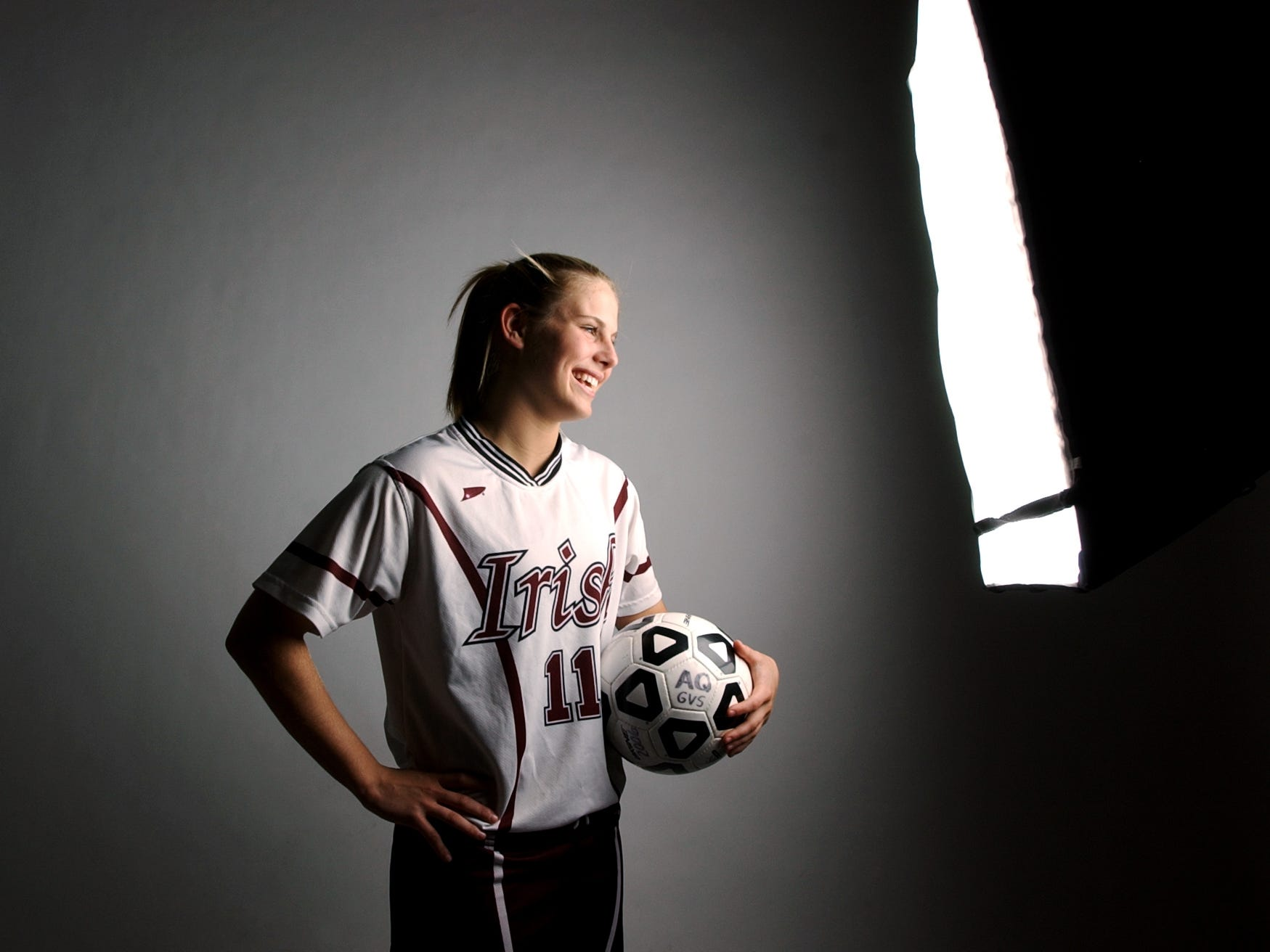Aquinas' Erica Henderson was named AGR Girls Soccer Player of the Year in 2006.