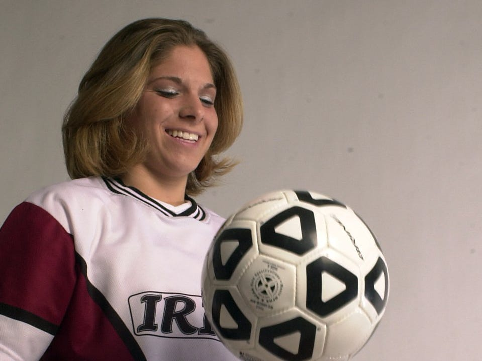 Jacquie Lacek was named AGR Player of the Year in 2002.
