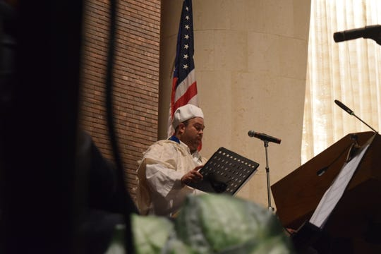 Hazzan Randall Levin kicks off his first High Holy Day season with Temple Beth El at the Selichot Service on Sept.1, 2018. The Selichot Service marked the beginning of the High Holy Day season.