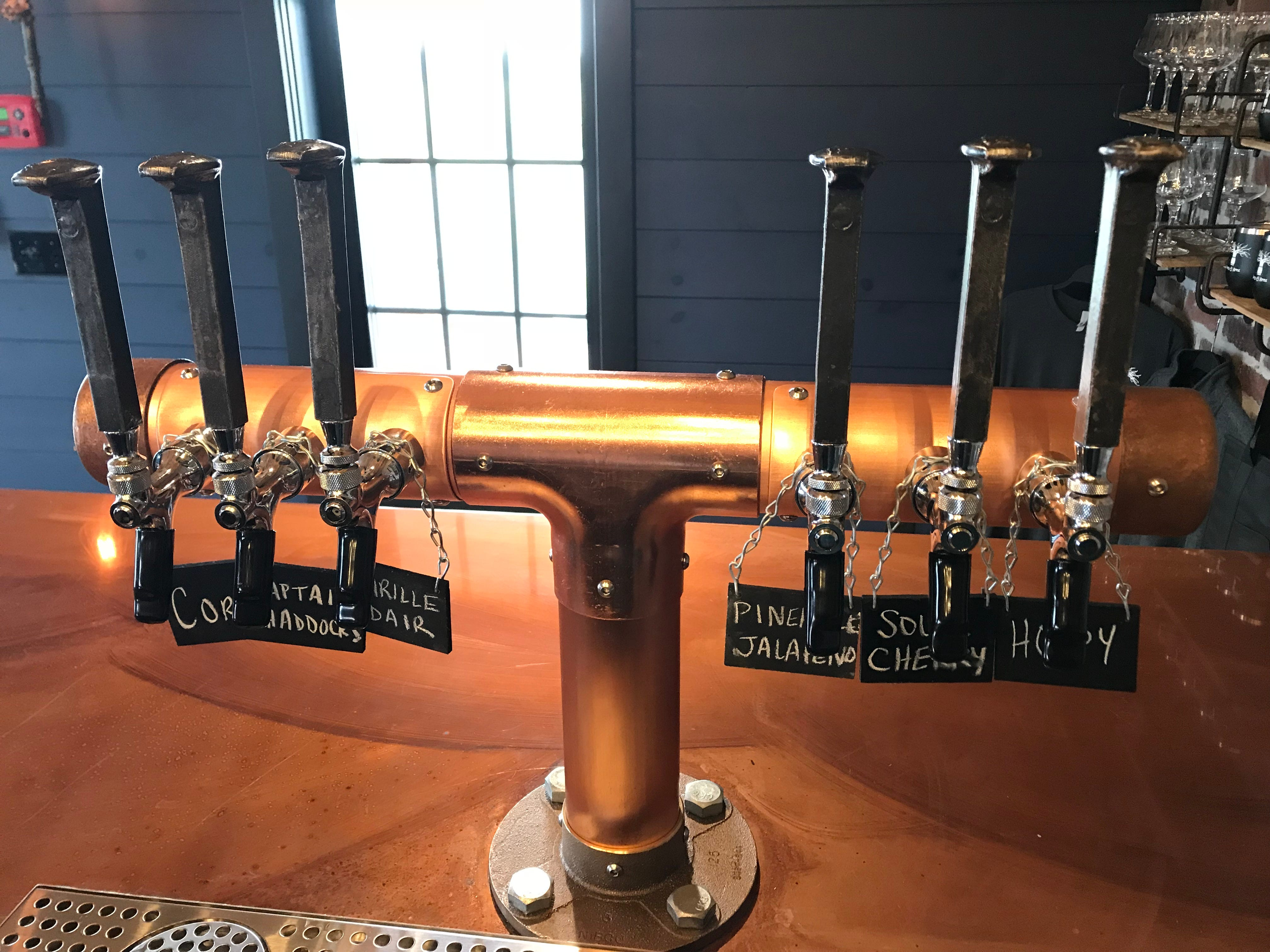 Six ciders will be poured at Oak & Apple Cidery.