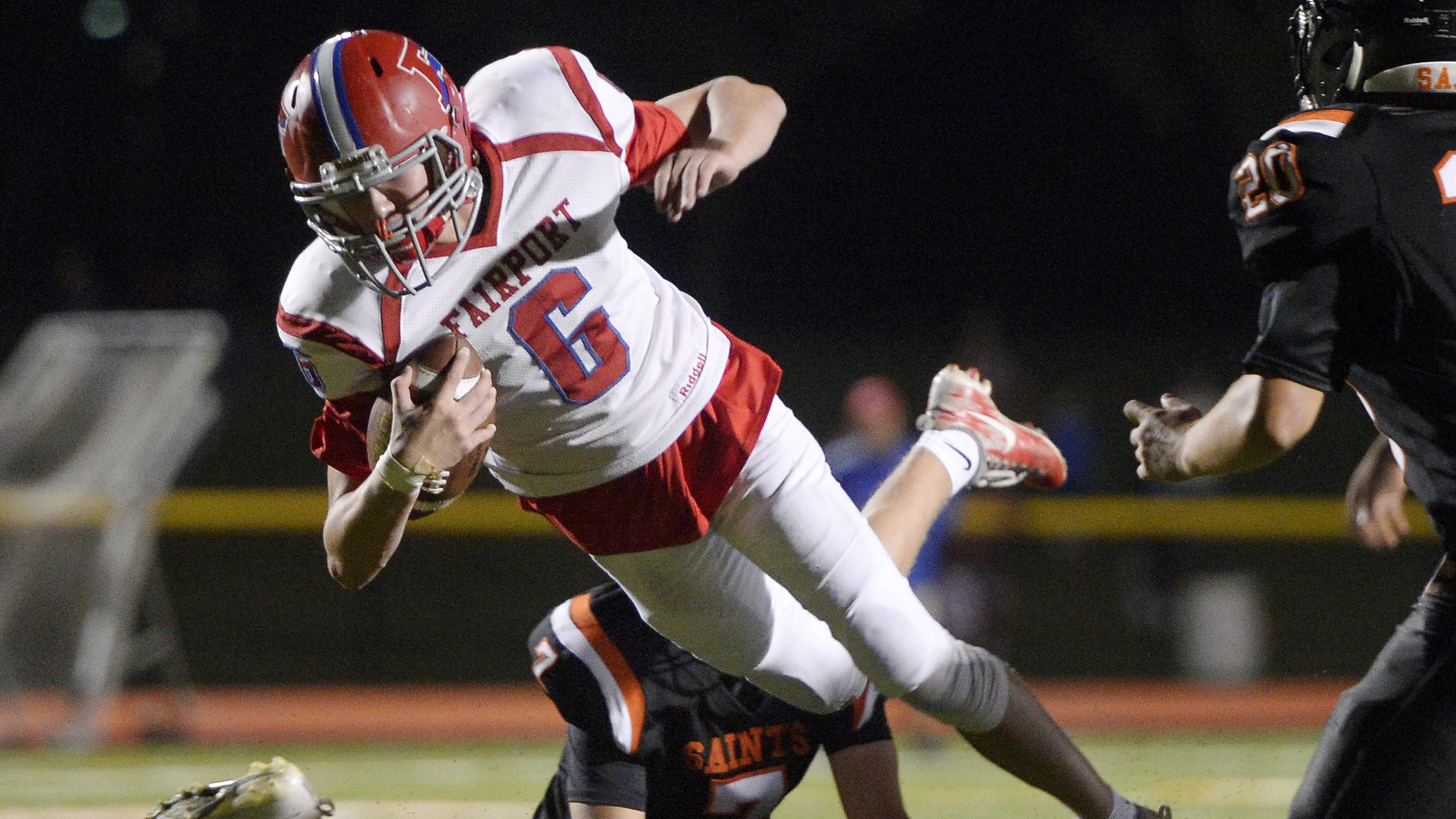 LIVE: Section V high school football scores for Week 2