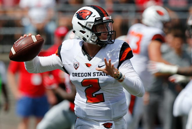 Conor Blount, who replaced Jake Luton in the first quarter of the season opener at Ohio State, has been listed as the starter.