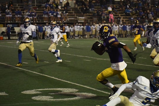 Salinas senior running back Poe Gaskins Jr. has the potential to play a big role in Friday night's game against Milpitas.