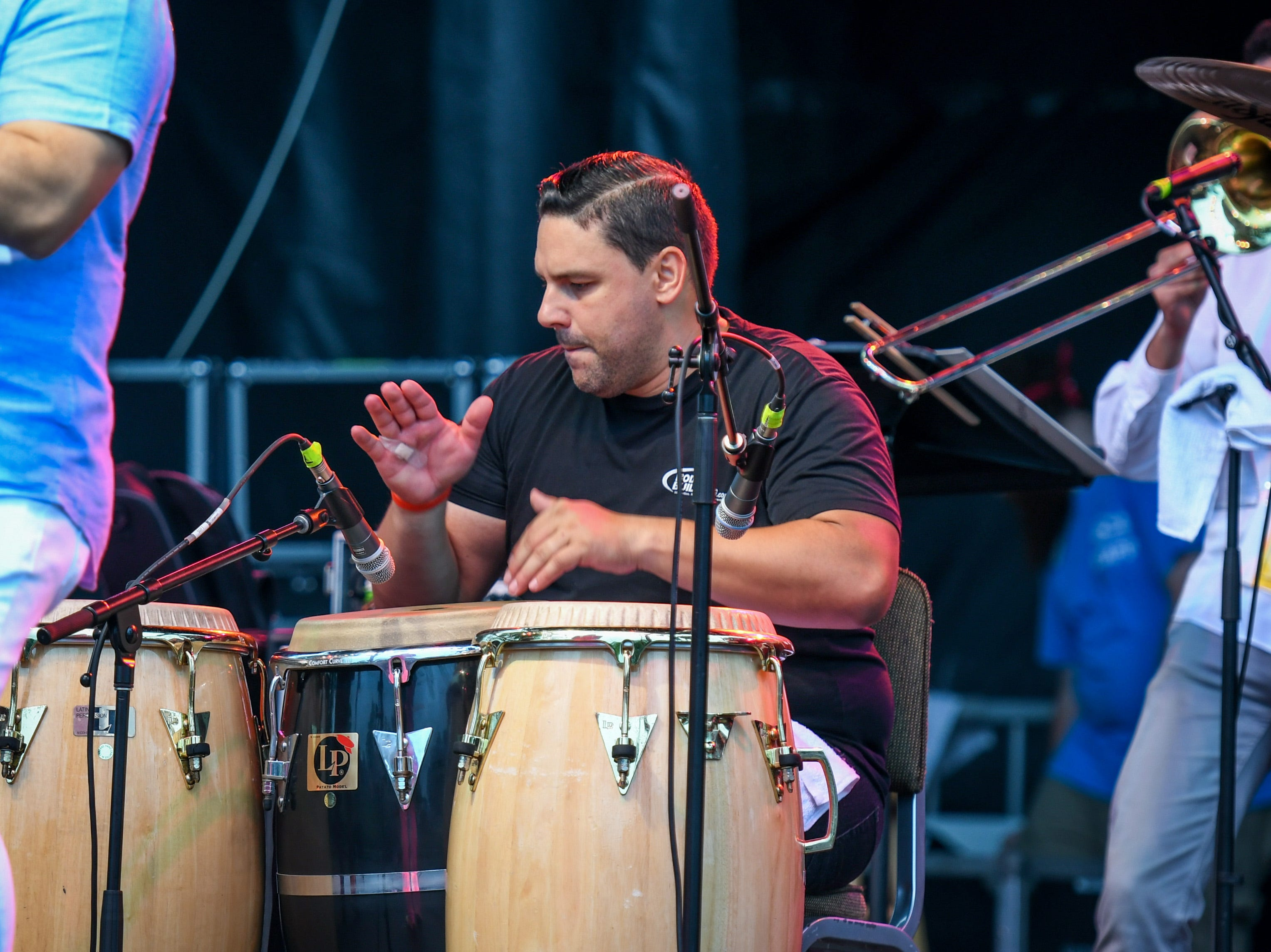 Orquesta SCC performs at the National Folk Festival in Salisbury on Saturday, Sept. 8.