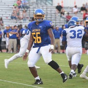 Wi-Hi's Dominic Bailey during game action Friday at Wicomico High School in Salisbury.