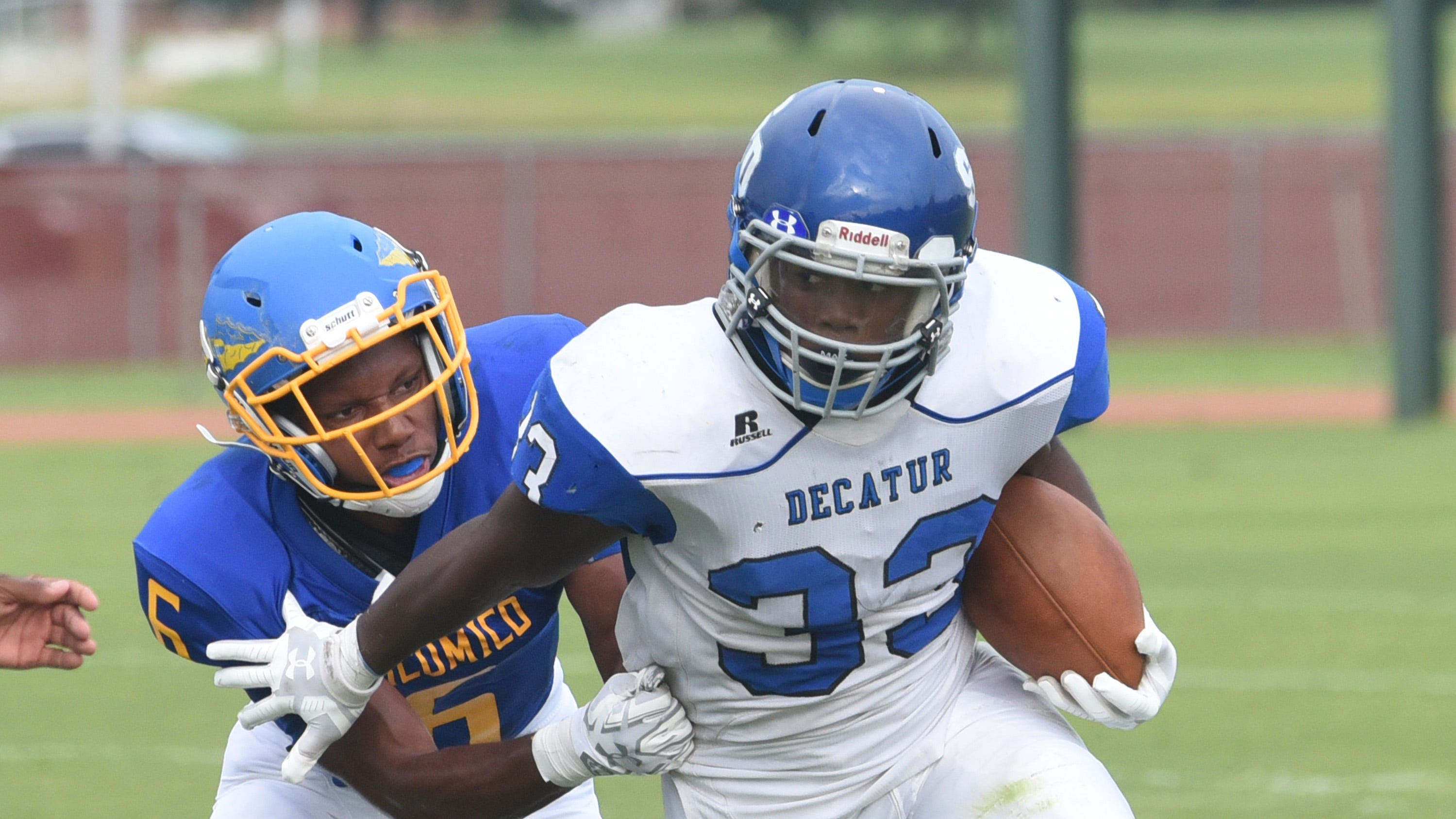 Decatur running back duo of London Drummond and Devin Waters bursts onto the scene