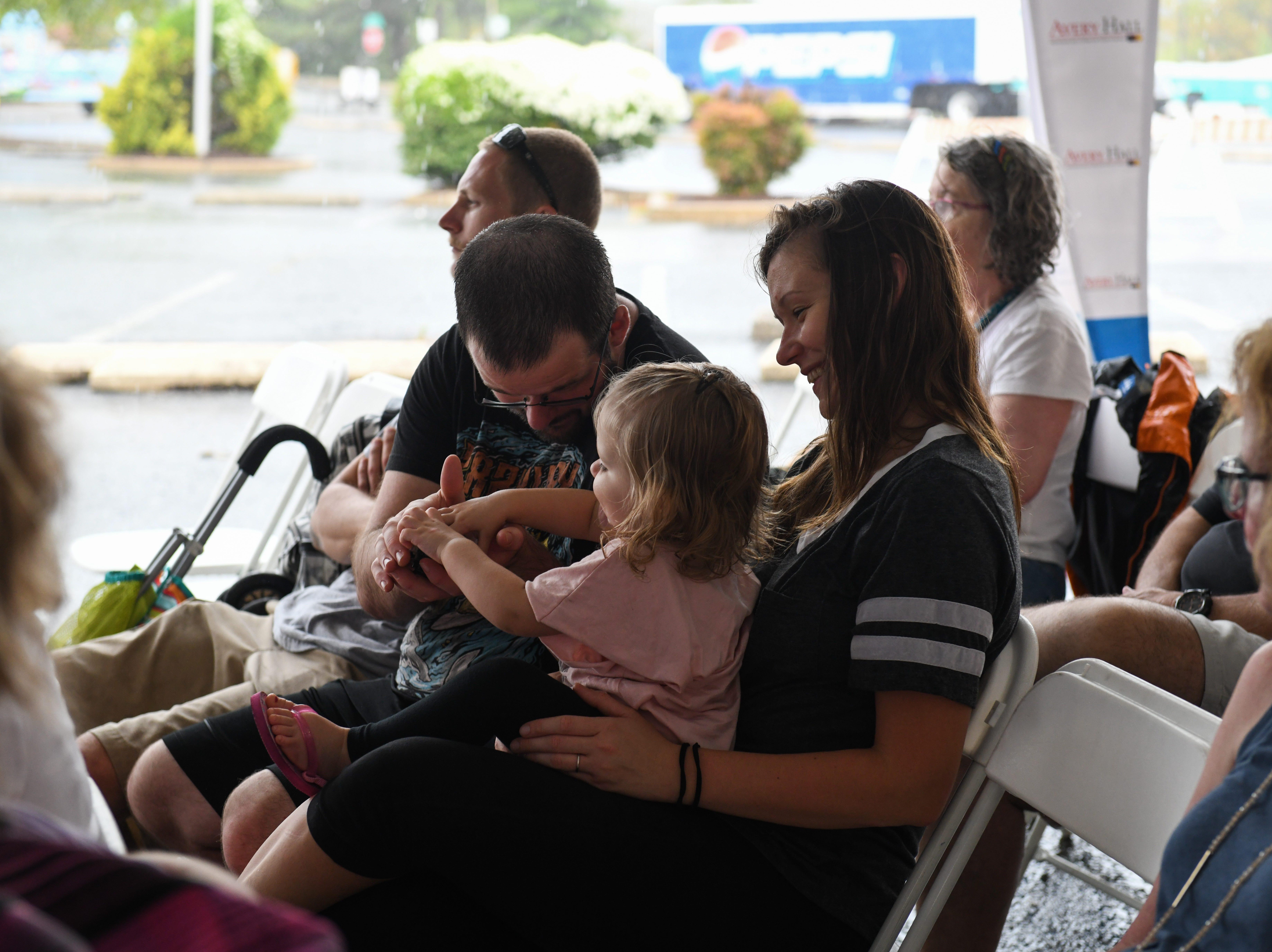 Rain didn't deter crowds at the National Folk Festival in Salisbury on Saturday, Sept. 8.