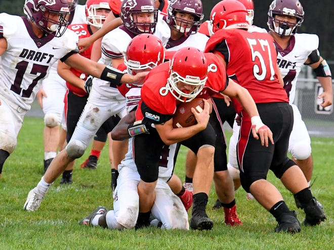 Zac Smiley  has rushed for over 500 yards and 10 TDs for Riverheads this season.