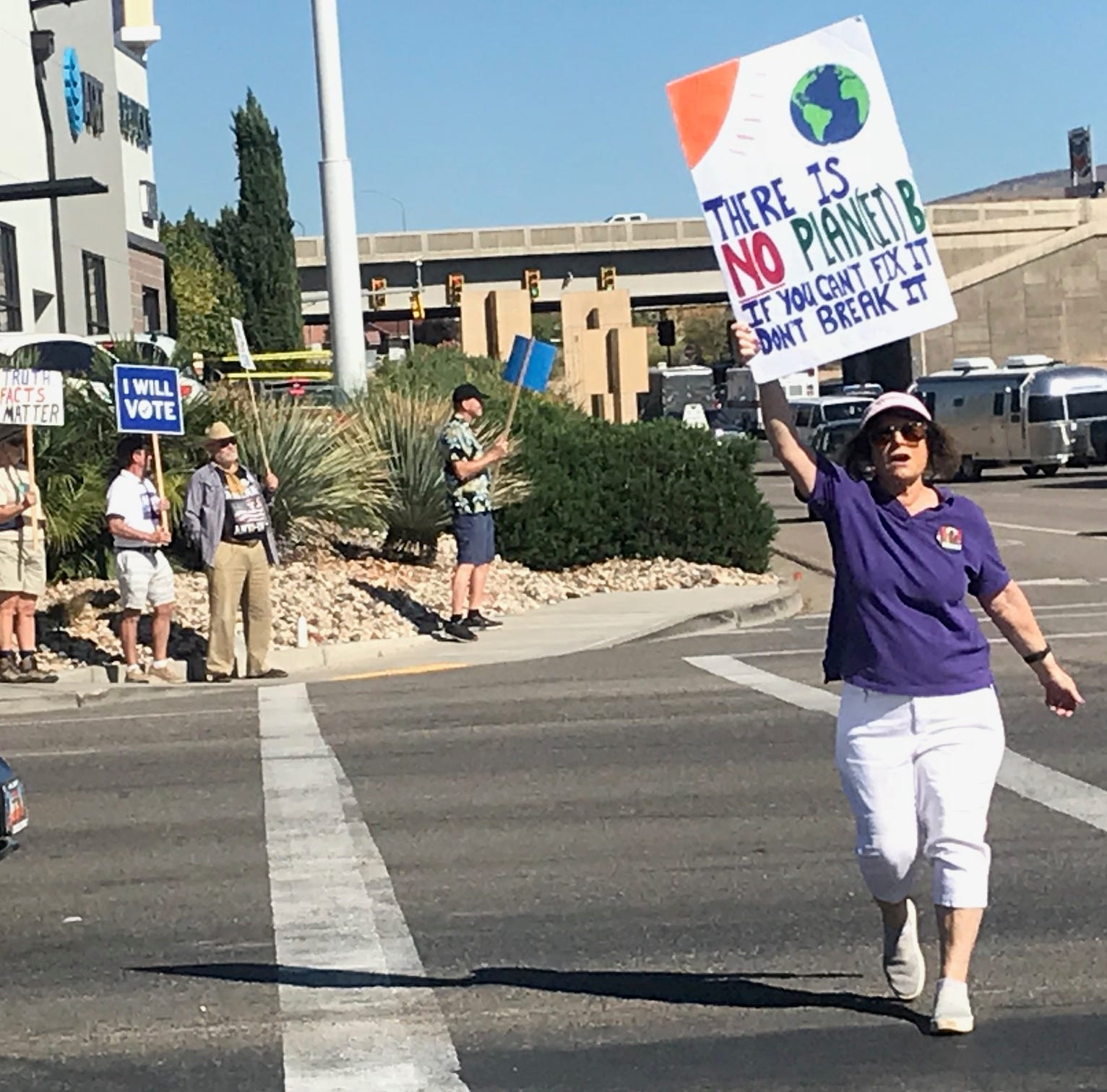 St. George-area residents march in call to combat climate change